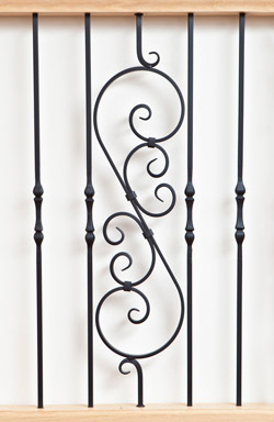 IB 107 and IB 130 iron baluster