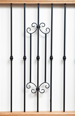 IB 138 and IB 125 iron baluster
