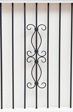 IB 120 and HEB 12 iron baluster