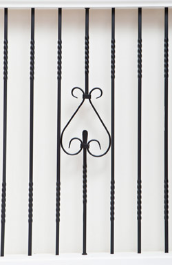IB 116 and TBD 12 iron baluster