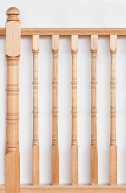 <strong>Upper Range</strong> WB 97 timber baluster