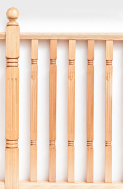 <strong>Standard Range</strong> WB 90 timber baluster