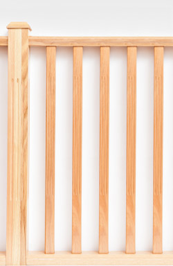 <strong>Standard Range</strong> Fluted 3 lines timber baluster