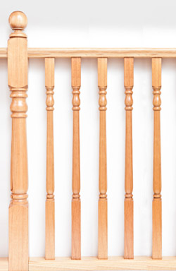 <strong>Standard Range</strong> WB 92 combination timber baluster
